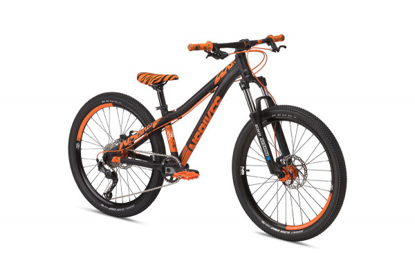 Funbike Clash Junior 24 pouces - Noir / Orange